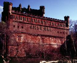 Bannerman's Island Arsenal Castle