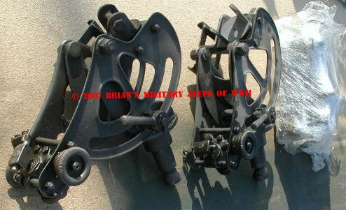 New Old Stock Early M1917 .30cal Water cooled machine gun cradles