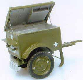 Here is photograph of a K-38 Jeep Trailer Model.