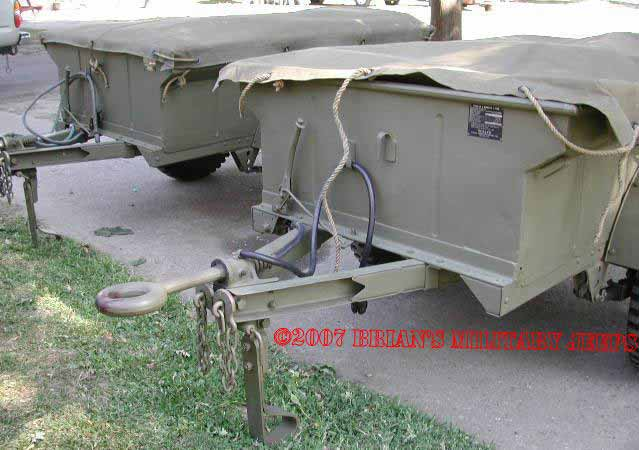 Jeep 1/4 ton Trailer Page  Willys MBT, Bantam T-3, M-100, M-416, K-38