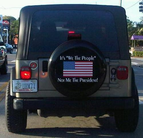 What's tough, rugged, goes anywhere with a can do attitude? Some say its a Jeep, others say its a Marine - I say both!