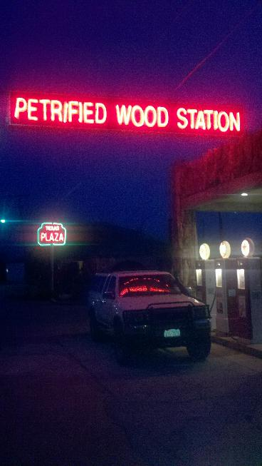 Petrified Wood Station - Gas Station and Traveler's Camp - est. 1927 - Decatur, Texas