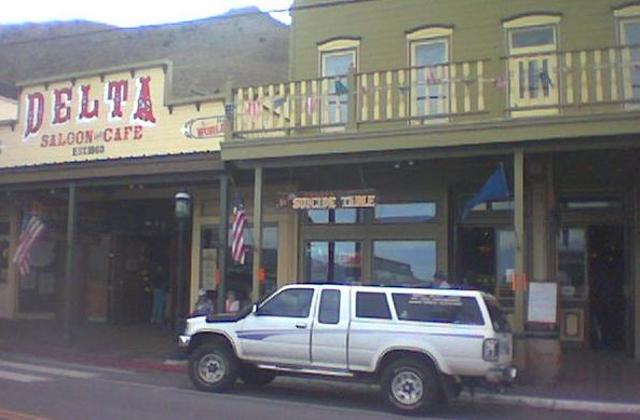 Virginia City, NV - est. 1859 - Home of the 'Bucket of Blood Saloon', and the 'Suicide Table'