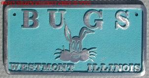 NOS 'Bugs' Westmont, Illinois car club plaque