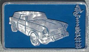 NOS 'Nomads' Arizona car club plaque
