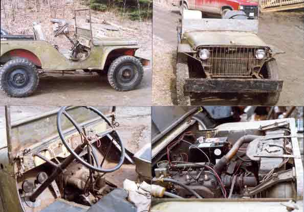 Jeep Cj Parts >> Customers Jeeps Page - Restored and Projects - Brian's Military Jeeps of WW2