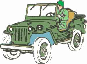 WWII Willys MB / Ford GPW Jeep