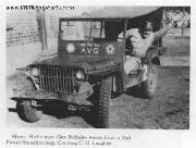 Alex Milhalko, AVG communications in 2nd Pursuit Squadrons Ford GP Jeep