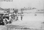 WWII Jeep and a B-29 Bomber on Saipan.
