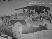 An Army Air orce 'Stretched' Jeep belonging to a B-24 Liberator Group of the 15th Air Force in Italy.