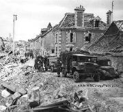 Destruction After Battle for Caen, 1944.