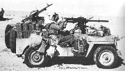 British SAS - Special Air Service - Jeep