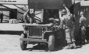 Ford Factory Photo - Testing GPW Jeeps fit into a CG-4 glider.