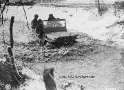 U.S. Army Ammunition Company Fording Road Wash January 1, 1945
