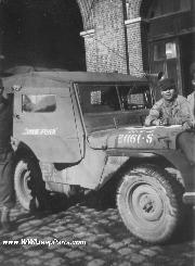 Jeep with Hard Top and Doors late in the war.