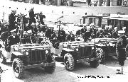 WW2 Coast Guard Anti-Saboteur Patrol Jeeps.