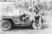 Sailors in a USN Jeep