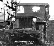 Early Willys Slat Grill MB Jeep in Alaska