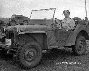 1941 Canadian License Plate in use on a 1941 Bantam Prototype Reconnaissance Car Mk-II / BRC-60 at Camp Borden, Ontario, Canada