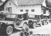 2 early Ford GP prototype Jeeps in convoy.