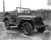 Willys MA Prototype 1/4-ton 4x4 Jeep at Holabird Quartermaster Depot in July 1941