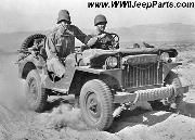 1941 Willys MA prototype Jeep at the Desert Training Center, Indio, CA, June 1942.
