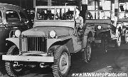 Willys MA Prototype Jeeps Willys Factory Assembly Line, 1941