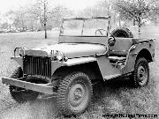 1941 Willys MA prototype Jeep in a field