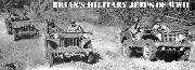 Ford GP, Willys MA, and Bantam BRC prototype jeeps at testing trials conducted by US Army