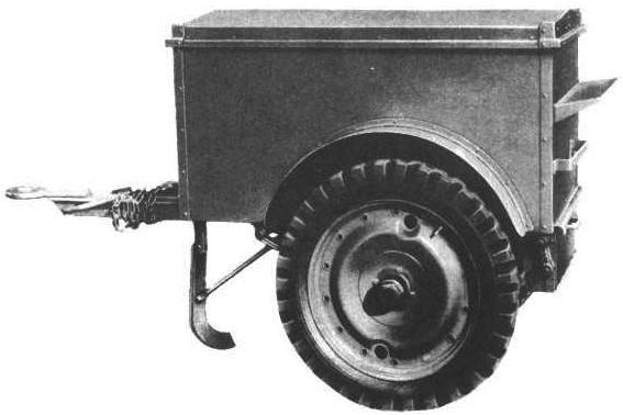 Here is photograph of a K-38 Jeep Trailer.