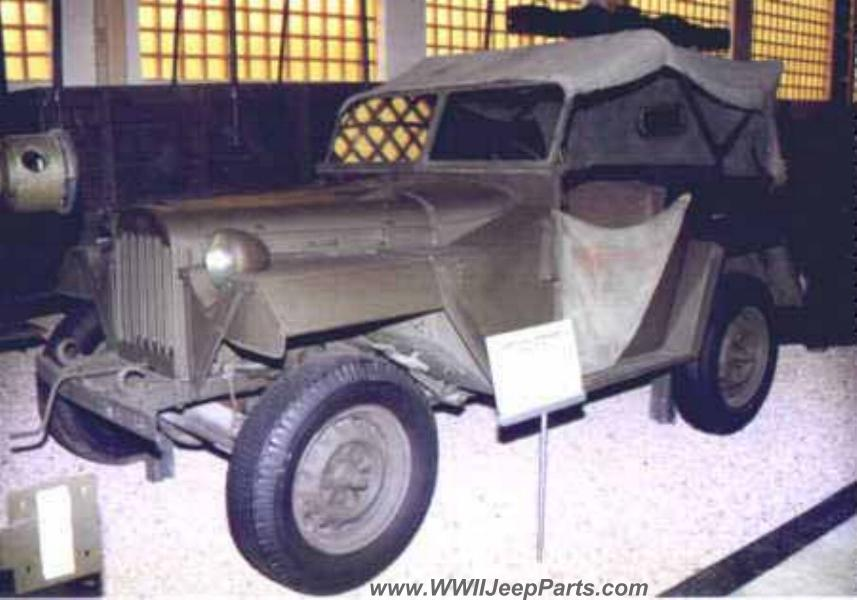 Russian GAZ-64 Jeep ~ WWII Soviet 4x4 Military Vehicle
