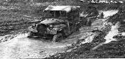 The GAZ could also tow the 45-mm anti-tank gun in deep mud with relative ease.