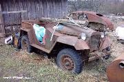 An 'as found' GAZ 67.