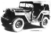 From the 2nd half of World War Two until the Korean War, the GAZ 67 was the Soviet Unions version of the American Willys Jeep.
