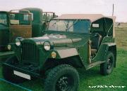 A post-war GAZ 67B restored and show ready.