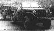 GAZ's competition came from the NATI Research Institute, who had designed their own prototype 4x4, the NATI AR.