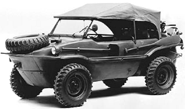 Original Picture of a WWII German Schwimmwagen from 1942