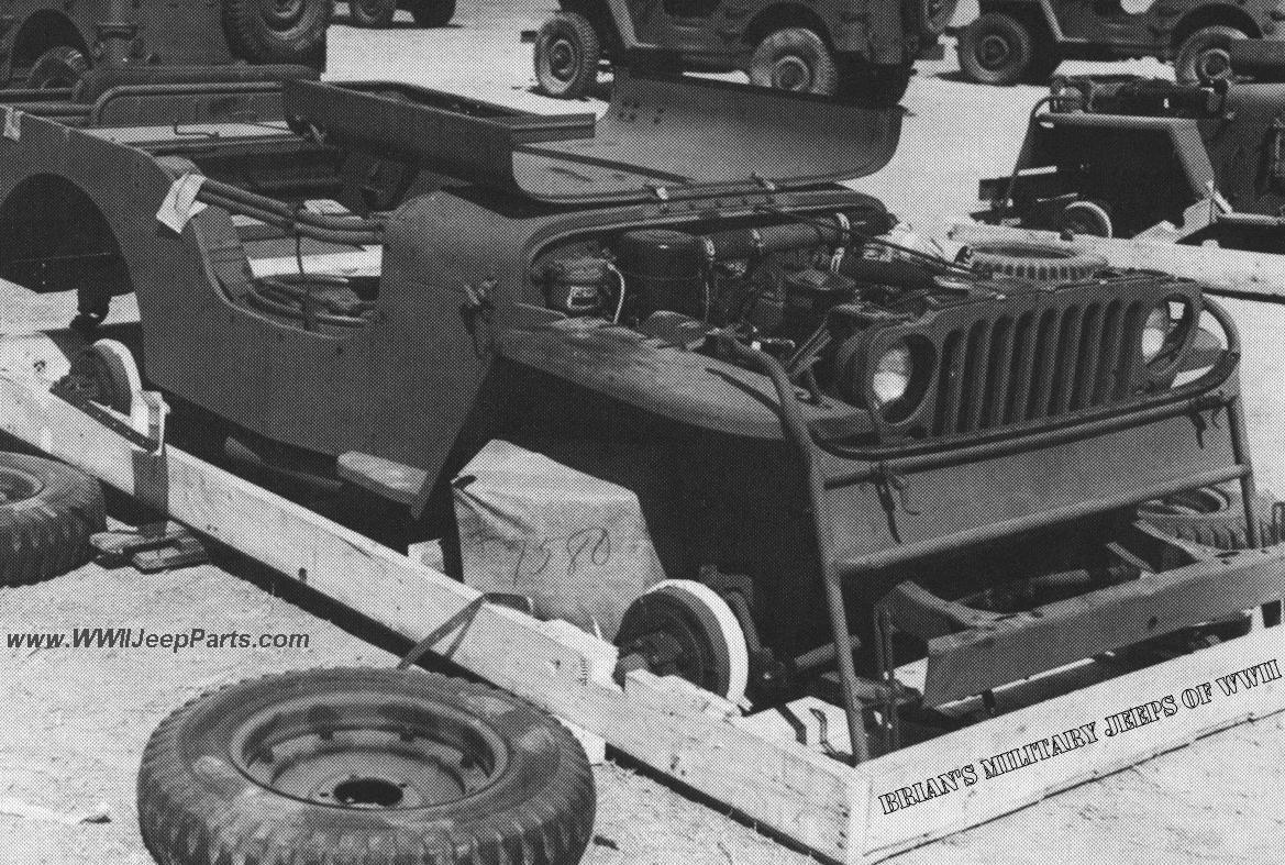 The 50 Jeep In A Crate Urban Legend Page 1950 Willys Pickup Truck Original Picture Of Sup Single Unit Pack